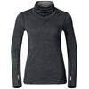 Odlo Revolution TW Warm Shirt L/S Turtle Neck Women black melange